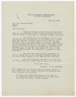 Letter from P.H. Callahan to Wm. Jennings Bryan