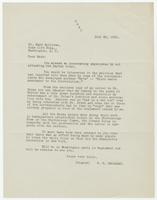 Letter from P.H. Callahan to Mark Sullivan