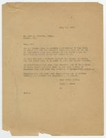 Letter from Hicks & Hicks to Kit C. Elswick