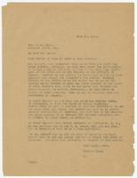 Letter from Hicks & Hicks to W.J. Bryan