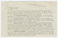 Letter from J.R. Cottingham of Kansas City to Prosecuting Attorney on Scopes Case