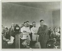 Courtroom Scene During Trial