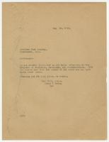 Letter from Hicks & Hicks to American Book Company.