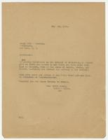 Letter from Hicks & Hicks to Henry Holt & Company.