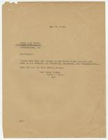 Letter from Hicks & Hicks to Leary Book Store, Philadelphia.