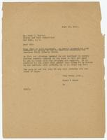 Letter from Hicks & Hicks to Fred R. Marvin