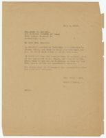 Letter from Hicks & Hicks to Lucia R. Maxwell