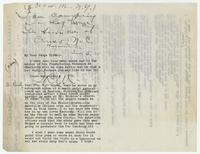 Letter from Jeannette R. Murphy to Judge Hicks