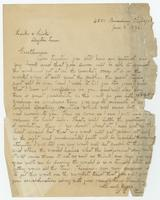 Letter from S.L. Walters to Hicks & Hicks