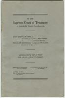 Proceedings, John Thomas Scopes vs. State of Tennessee
