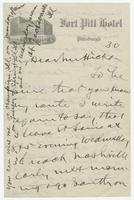 Letter from W.J. Bryan to Mr. Hicks