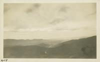 View of Chilhowee Mountain from the Smokies (image number 609)