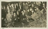 At Sunshine in Mt. Luke Trip. Flash Light picture Jan 22-1928 (image number 27)