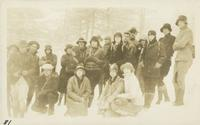 On way to Rocky Spur from Le Conte March 3-4-1928 (image number 81)