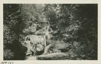 Falls on way to Guyot Aug 31 - Sept 1-2-1929 (image number 340)