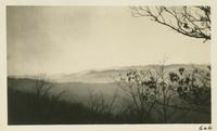 View of Mts. in North Carolina from State Line between Deal Gap & Parson Bald Feb 1-1931 (image number 666)