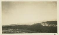 Looking in North Carolina from Gregory Bald Feb 1-1931 (image 669)