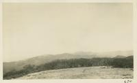 View from Gregory Bald of the State Line looking toward Thunderhead Feb 15-1931 (image number 670)