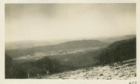 Cades Cove from Gregory Bald Feb 15-1931 (image number 672)