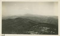 Looking back across State Line toward Clingman Dome from Thunderhead April 11-12-1931 (image number 709)