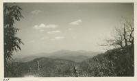 Looking back across State Line from side of Thunderhead Clingman Dome in background April 11-12-1931 (image number 711)