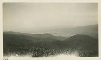 Cades Cove in distance taken from Thunderhead April 11-12-1931 (image number 712)