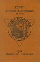 1935 Handbook of the Smoky Mountains Hiking Club