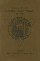 1936 Handbook of the Smoky Mountains Hiking Club