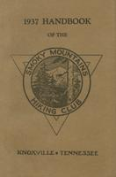 1937 Handbook of the Smoky Mountains Hiking Club