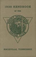 1938 Handbook of the Smoky Mountains Hiking Club