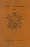 1940 Handbook of the Smoky Mountains Hiking Club