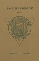 1942 Handbook of the Smoky Mountains Hiking Club