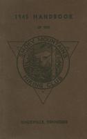 1945 Handbook of the Smoky Mountains Hiking Club