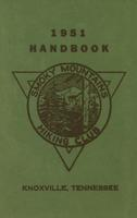1951 Handbook of the Smoky Mountains Hiking Club