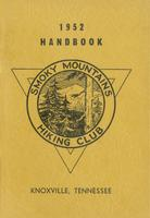 1952 Handbook of the Smoky Mountains Hiking Club
