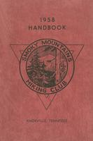 1958 Handbook of the Smoky Mountains Hiking Club