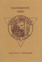 1960 Handbook of the Smoky Mountains Hiking Club