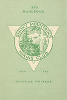 1963 Handbook of the Smoky Mountains Hiking Club