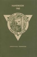 1965 Handbook of the Smoky Mountains Hiking Club