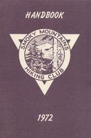 1972 Handbook of the Smoky Mountains Hiking Club