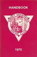 1975 Handbook of the Smoky Mountains Hiking Club