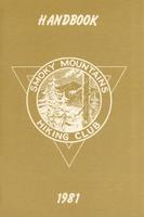1981 Handbook of the Smoky Mountains Hiking Club