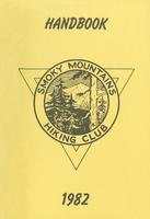 1982 Handbook of the Smoky Mountains Hiking Club