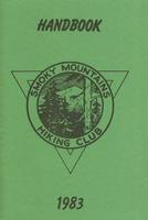 1983 Handbook of the Smoky Mountains Hiking Club