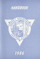 1986 Handbook of the Smoky Mountains Hiking Club
