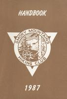 1987 Handbook of the Smoky Mountains Hiking Club