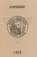 1988 Handbook of the Smoky Mountains Hiking Club