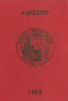 1989 Handbook of the Smoky Mountains Hiking Club