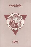 1991 Handbook of the Smoky Mountains Hiking Club