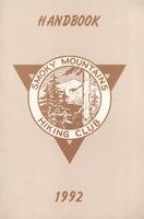 1992 Handbook of the Smoky Mountains Hiking Club